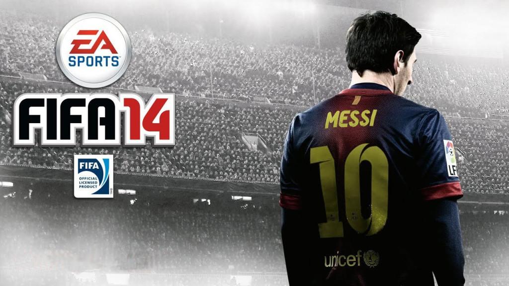 La copertina di Fifa 2014