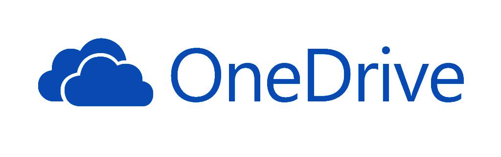 Il logo di Microsoft OneDrive