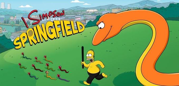 Simpson Springfield Android Festa delle Mazzate