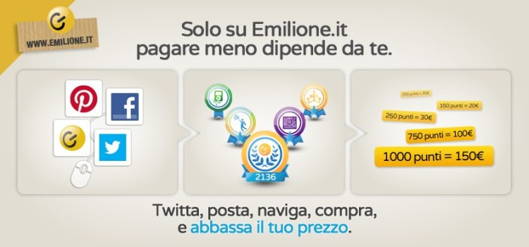 Emilione.it è il primo social e-commerce italiano