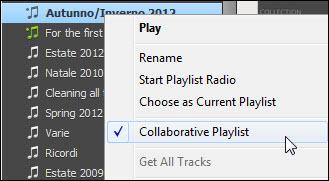 Creare playlist collaborative su Spotify