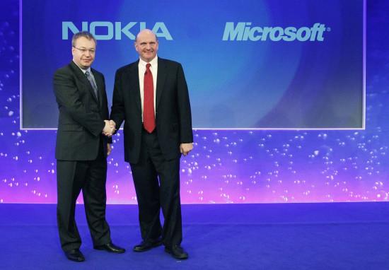 L'accordo storico tra Stephen Elop e Steve Ballmer