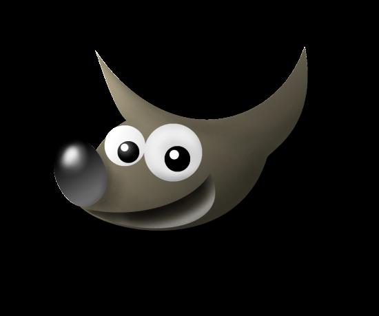 Il classico logo di Gimp