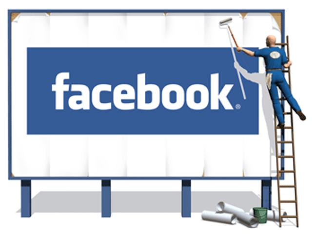 La cartellonistica Facebook