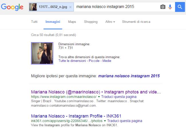 Risultato di ricerca di Google Immagini