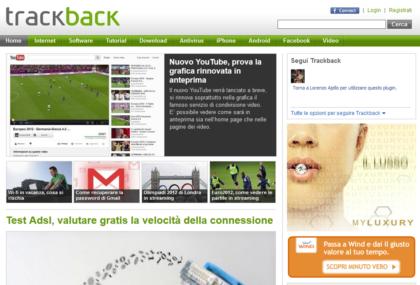 Trackback Homepage