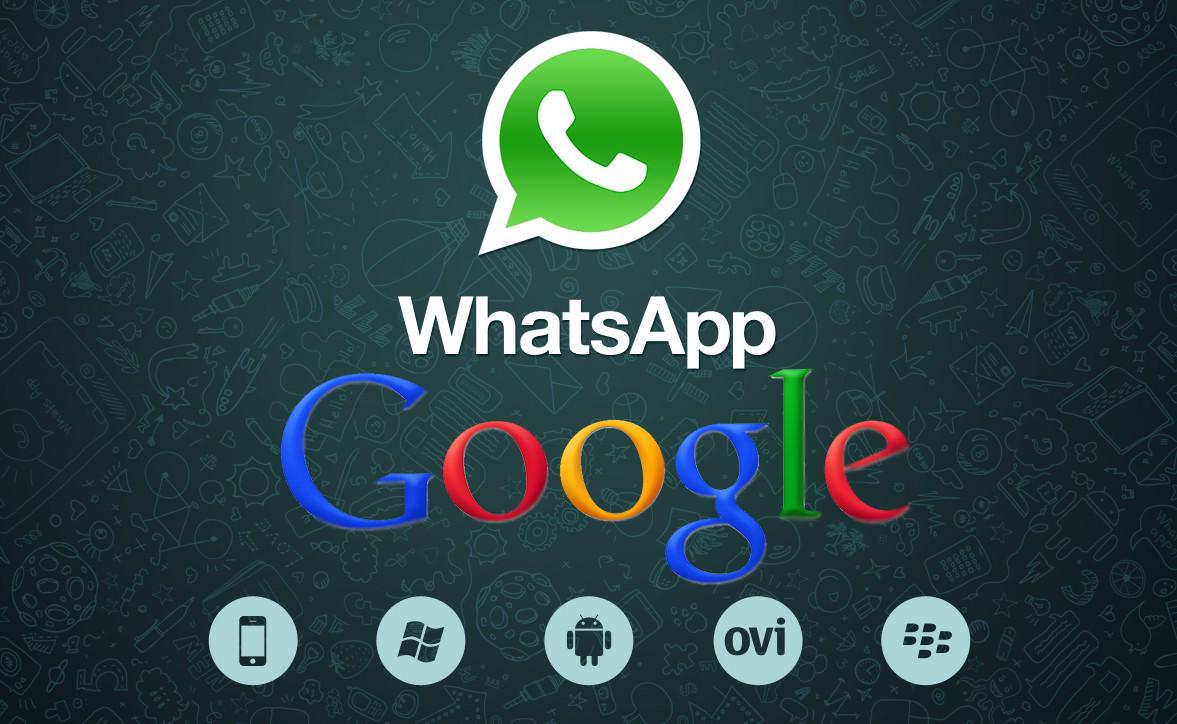 Google vuole acquistare Whatsapp