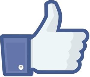Il classico pulsante MiPiace di Facebook